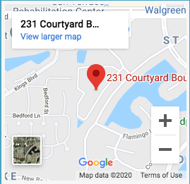 Google map of aston gardens courtyards