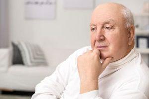man at an independent senior living community