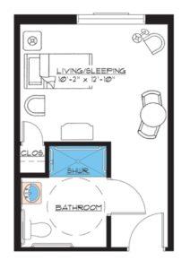 aston gardens pelican pointe special suite floor plan