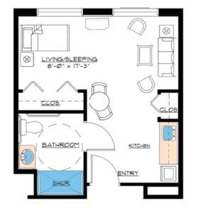 aston gardens pelican pointe suite floor plan