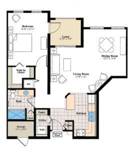 aston gardens pelican pointe andover deluxe floor plan