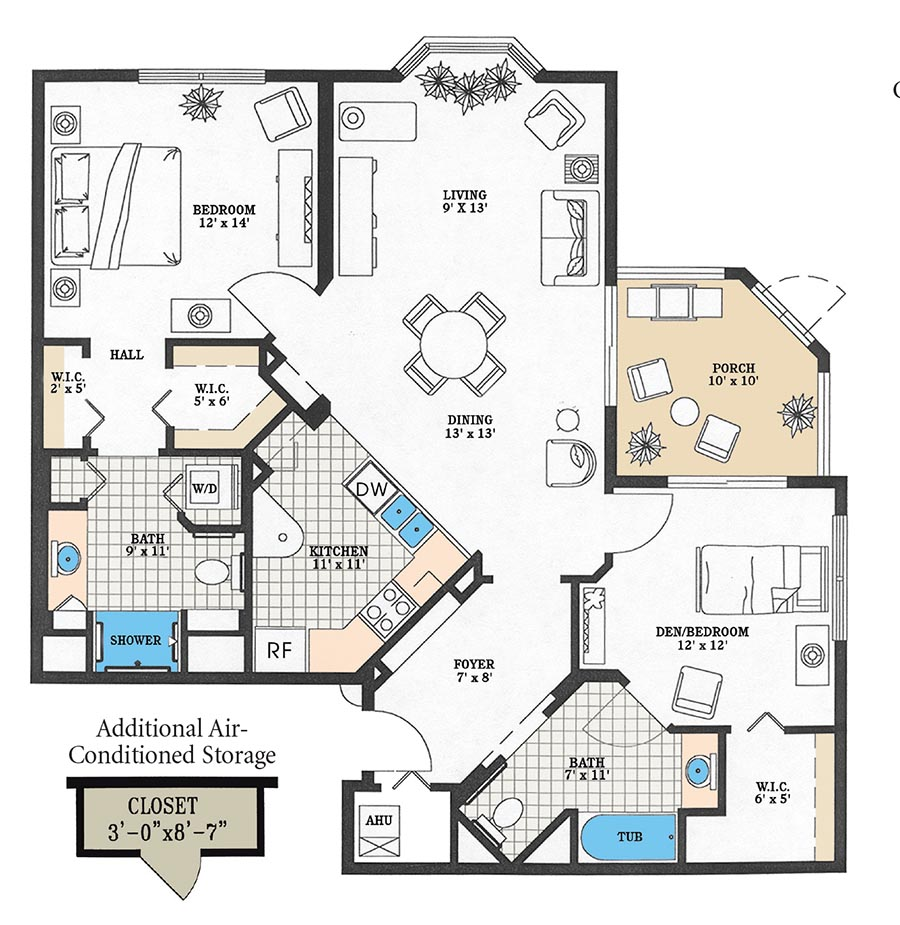 Aston Gardens At Pelican Marsh essex floor plan