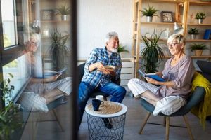 a couple in Venice Florida Residential Senior Living Options